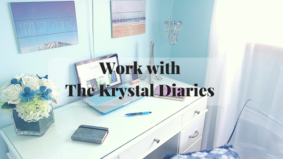 Work with The Krystal Diaries