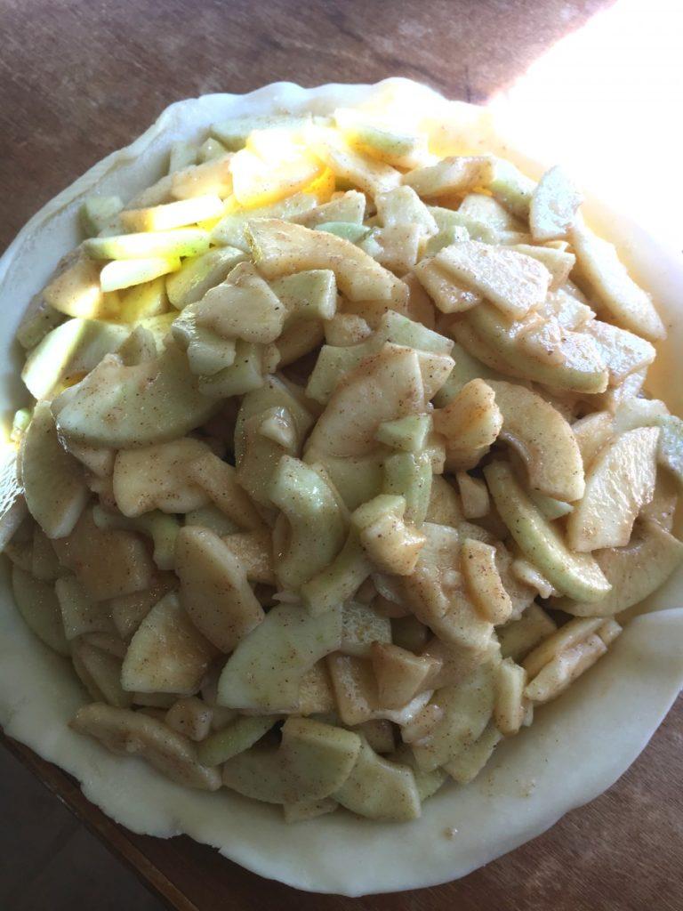 Simple Homemade Apple Pie Recipe // The Krystal Diaries